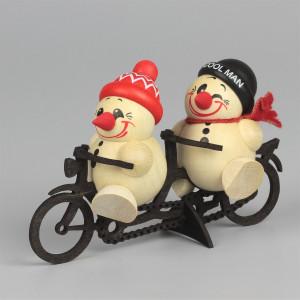 Cool-Man Fritz & Freddy auf Tandem