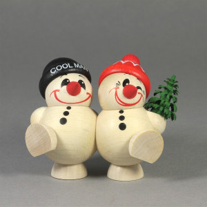 Cool-Man Fritz & Freddy mit Bäumchen