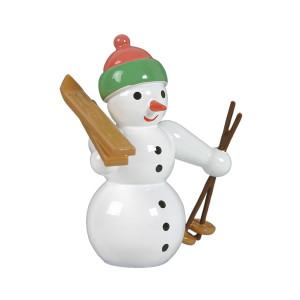 Schneemann mit Schneeschuh