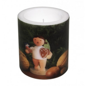 Kerze Lebkuchenengel
