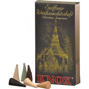Seiffner Weihnachtsduft Räucherkerzen Mischung 35g, 24 Stk. Packung