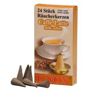 Räucherkerzen  - Exotisch Caffé Latte  35g, 24 Stk. Packung