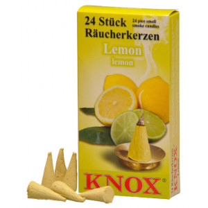 Räucherkerzen  - Gewürze - Lemon 35g, 24 Stk. Packung