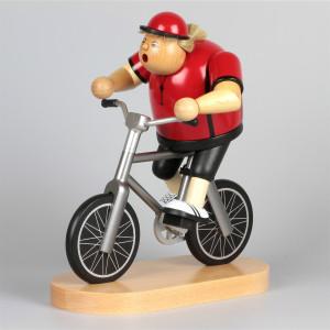 Räuchermännchen Radfahrerin, Exklusiv-Edition