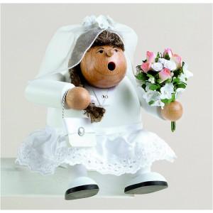 Räuchermännchen Kantenhocker Braut