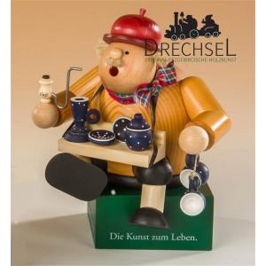 Räuchermännchen Kantenhocker Geschirrhändler, Exklusiv-Edition