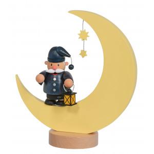 Räuchermännchen Kleine Kerle Mann im Mond