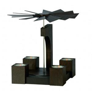 Moderne Pyramide Farbton Mooreiche