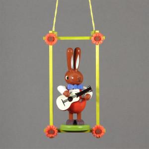 Baumbehang Osterhase mit Gitarre