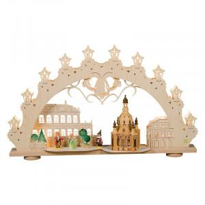 3D Lichterbogen Dresdner Frauenkirche
