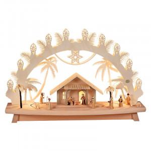 3D Bewegter Lichterbogen Christi Geburt