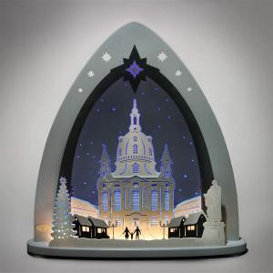 LED Lichterspitze 'Dresdner Frauenkirche'