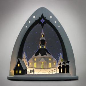 LED Lichterspitze 'Seiffner Frauenkirche'