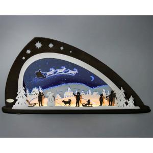 LED Schwibbogen 'Santa Claus'