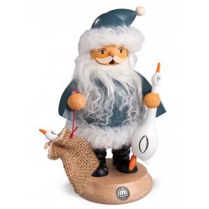 Räuchermann Nordic Santa mit Gans Auguste