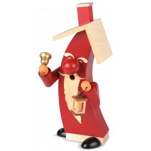 Moderne Räucherfigur Weihnachtsmann