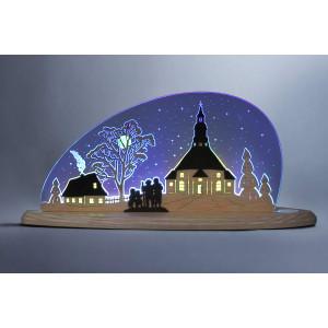 LED Motivleuchte 'Seiffner Kirche'