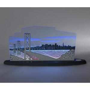 LED Motivleuchte 'Blick über San Francisco'