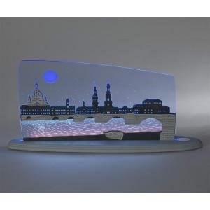 LED Motivleuchte 'Dresden bei Nacht'