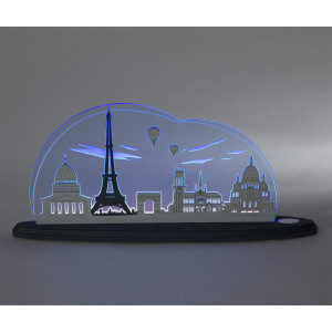 LED Motivleuchte 'Ich liebe Paris'