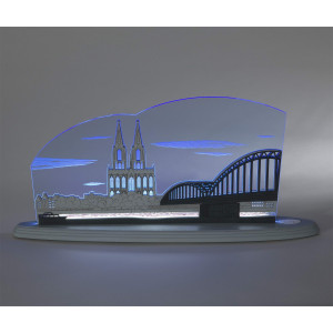 LED Motivleuchte 'Kölner Dom'