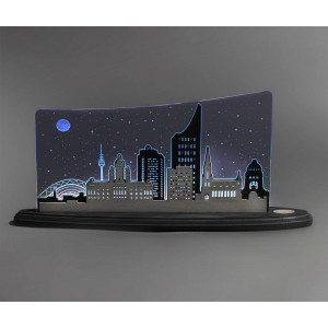 LED Motivleuchte 'Leipzig Panorama'