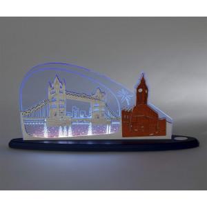 LED Motivleuchte 'London, London'