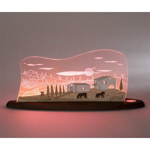 LED Motivleuchte 'Toskana Sonne'