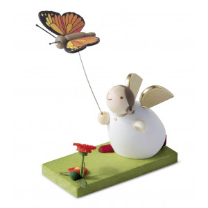 Schutzengel mit Schmetterling