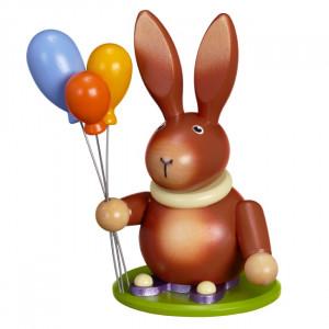 Osterhase mit Luftballon