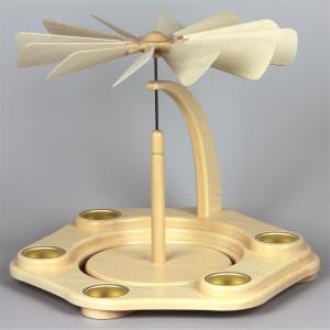 Teelichtpyramide zum selbst bestücken