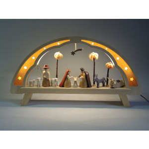 LED Schwibbogen Christi Geburt