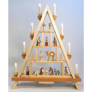 Fensterdreieck Lichterspitze Christi Geburt