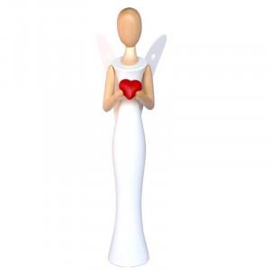 Sternkopf-Engel mit Herz