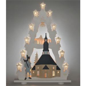 Lichterspitze Seiffener Kirche