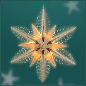 Fensterstern mit Beleuchtung ø 32,0 cm