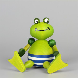 Badefrosch Bert, sitzend