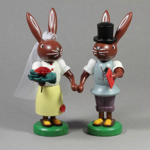 Hasen Brautpaar