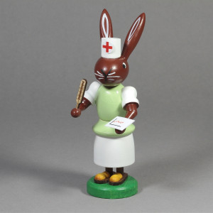Häsin Krankenschwester
