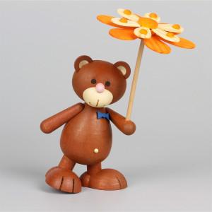 Teddy Kunibärt mit Blumenschirm