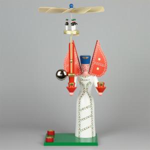 Seiffener Glockenengel, 40 cm