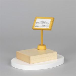 Schneemannkapelle Notenpult für Dirigent