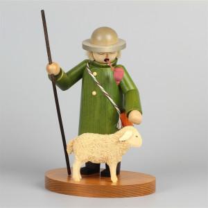 Räuchermann Hirte mit Schaf