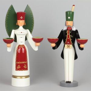 Engel und Bergmann farbig
