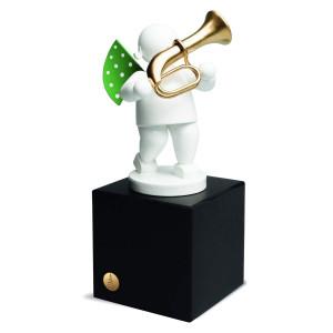Edition Klangfarbe Weiß, Engel mit Basstrompete