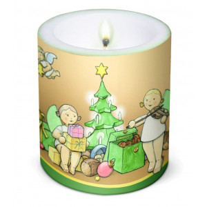 Kerze Weihnachtszauber