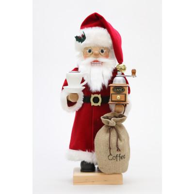 Nussknacker Weihnachtsmann Kaffeefreund