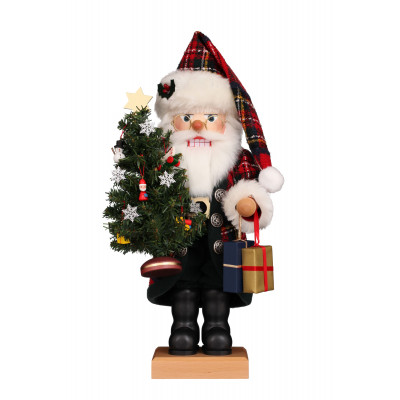 Nussknacker Weihnachtsmann Karo