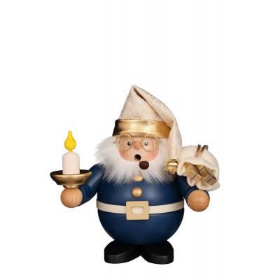Räuchermännchen Weihnachtsmann mit Kerze