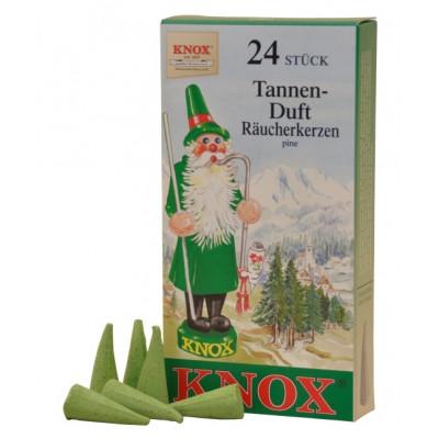 Räucherkerzen  - Klassisch Tanne 35g, 24 Stk. Packung